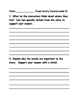 Journeys lesson 7 small group guided reading comprehension questions