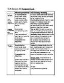Journeys lesson plans unit 5 second 2nd grade