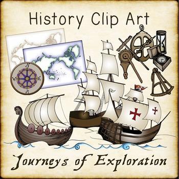 Ocean Explorers Clip Art