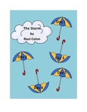 Journeys writing Unit 1, Lesson 2 The Storm first grade smart notebook