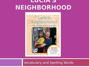 Journey's - First Gr.-Lesson 4-Lucia's Neighborhood-Voc. &