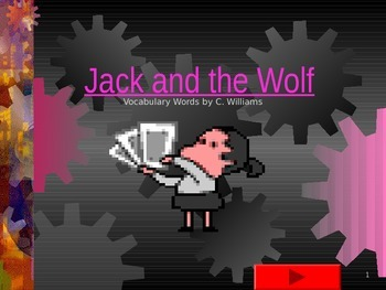 Journey's - First Grade -Lesson 6-Jack and the Wolf-flashcard powerpoint