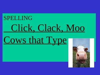 Journey's - Lesson 11 - Click Clack - Sp. Powerpoint - second gr.