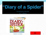 Journey's - Lesson 4 - Diary of a Spider - powerpoint flash cards - second grade