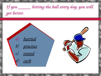 Journey's - Lesson 17 - Luke Goes to Bat - vocabulary powerpoint- second grade