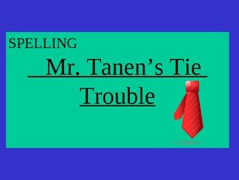 Journey's - Lesson 16 - Mr. Tanen's Tie Trouble - Sp powerpoint -second gr.