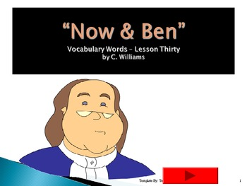 Journeys - Lesson 30 - Now & Ben - flashcard powerpoint -