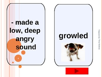 Journey's - Lesson 27 - The Dog That Dug Dinosaurs - flash card powerpoint - 2nd