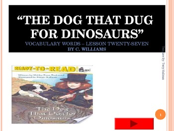 Journey's - Lesson 27 - The Dog That Dug Dinosaurs - flash