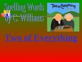 Journey's - Lesson 29 - Two of Everything - spelling powerpoint