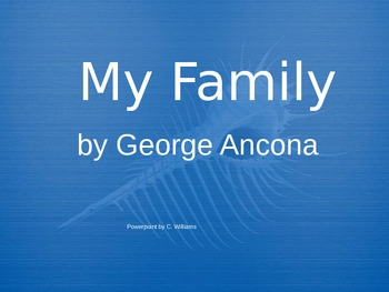 Journey's - Lesson 2 - My Family - voc powerpoint-2nd gr.