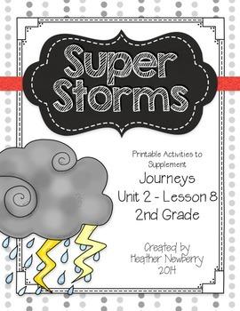 Journeys: Super Storms (Unit 2, Lesson 8)