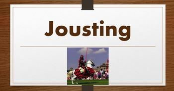 Jousting Power Point