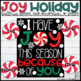 Joy Christmas/Holiday Bulletin Board, Door Decor, or Poster