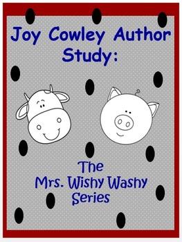 Joy Cowley: Mrs. Wishy Washy Author Study