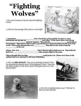 """Joy Hakim's """"War, Peace and All that Jazz""""  Chapter 29 Worksheet"""