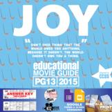 Joy Movie Guide | Questions | Worksheet (PG13 - 2015)