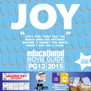 Joy Movie Guide | Questions | Worksheet (PG13 - 2015)