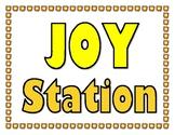Joy Station Sign
