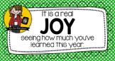 Joy Testing Treat