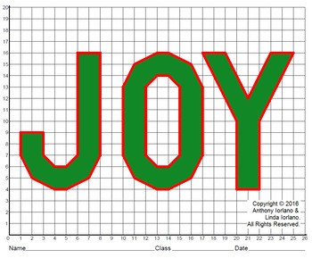 Joy the the World Mystery Picture