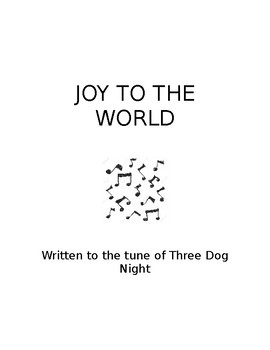 Joy to The World - Original Rock Version