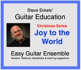 Joy to the World - Christmas Guitar Ensemble, Guitar Trio