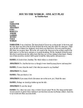 Joy to the World - Christmas Play