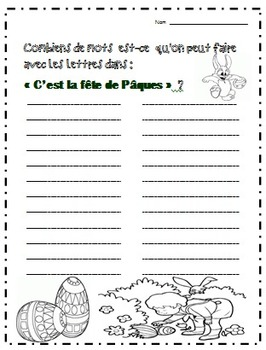 Easter--Joyeuses Pacques: Everything to Make Easter FUN in FRENCH!