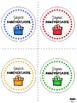 FREE: Joyeux Anniversaire - Birthday labels