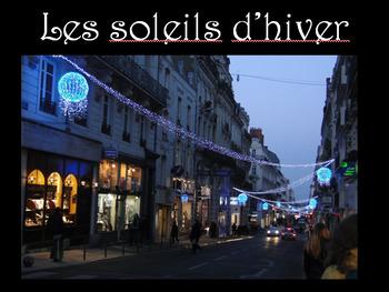 Joyeux Noël Vocabulary Photograph Lesson (French Christmas)