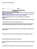 Joyeux Noel (movie)  Worksheet -- with answer sheet