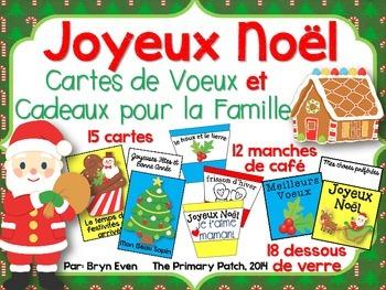 Noël: Cartes de Voeux et Cadeaux pour la Famille