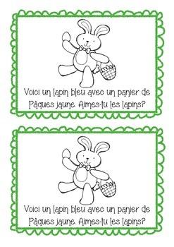 Joyeuses Pâques! - Happy Easter easy ready booklet