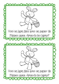 Joyeuses Pâques! - Happy Easter easy ready booklet