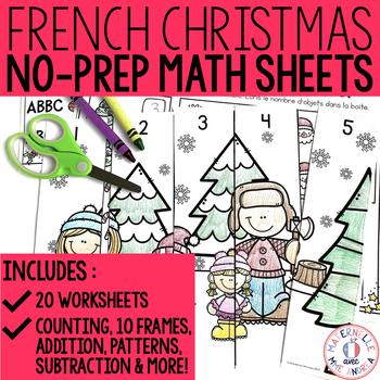 Joyeux décembre! Activités de mathématiques SANS PREP!