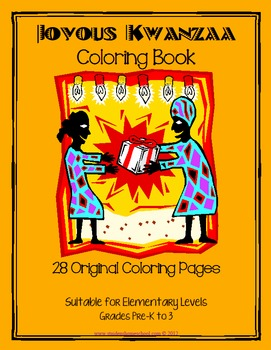 Joyful Kwanzaa Coloring Book