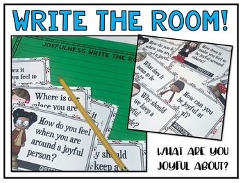 Joyfulness Write the Room a Christmas Activity