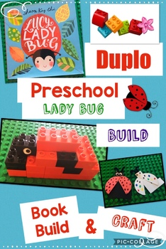 Jr Engineers, Lady Bug, Learning with Duplo® Bricks