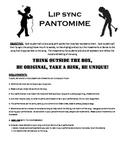 Jr. High Theatre / Drama Lip Sync Pantomime