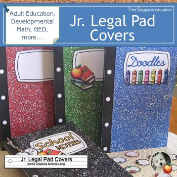 Jr. Legal Pad Covers