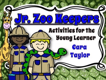 Jr. Zoo Keepers~Supplemental Activities for Young Learners