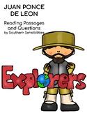 Juan Ponce de Leon Close Reading Passage and Questions