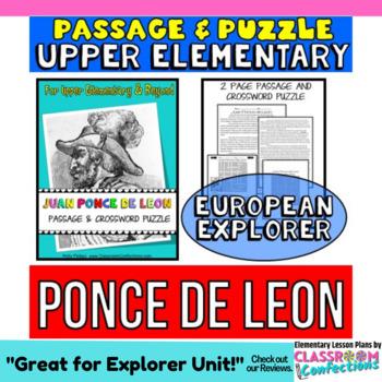 Juan Ponce de Leon: Reading Passage: Biography: Comprehens