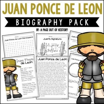 Juan Ponce de Leon Biography Pack (New World Explorers)