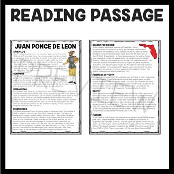 Juan Ponce de Leon, Explorer, Fountain of Youth, Florida, European Exploration