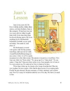 Juan's Lesson