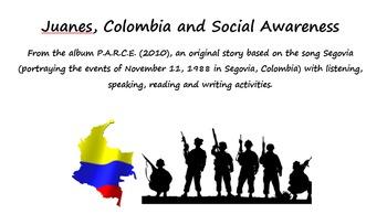 Juanes, Colombia y la masacre en Segovia