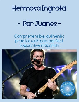Spanish Song: Hermosa Ingrata por Juanes - Past Perfect Subjunctive Practice