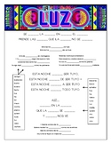 Juanes - 'La Luz' Cloze Song Sheet!